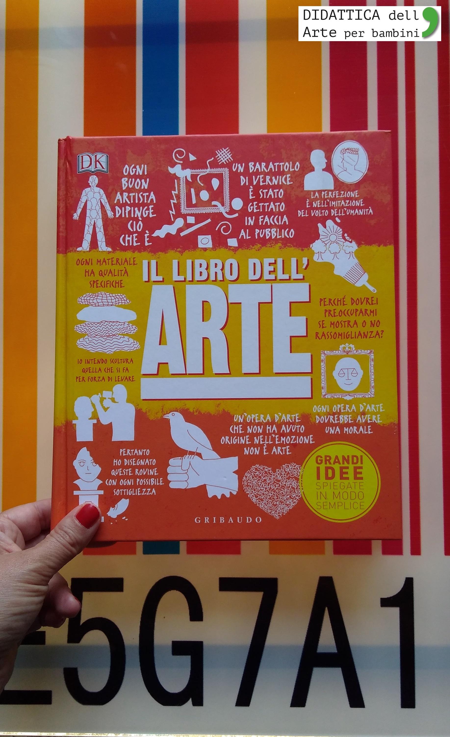 Favori Il libro dell'Arte | Didattica dell'Arte per Bambini IZ58