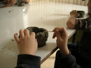 Lavorare l'argilla al Museo Archeologico
